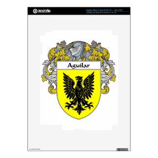 Aguilar Coat of Arms/Family Crest: Skin For iPad 3