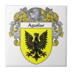 Aguilar Coat of Arms/Family Crest: Tile
