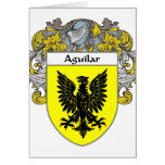 Aguilar Coat of Arms (Mantled) Cards