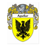Aguilar Coat of Arms (Mantled) Postcards