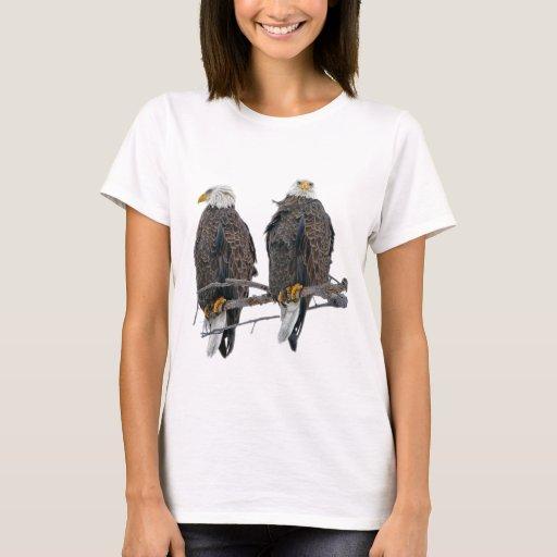 Águilas gemelas playera