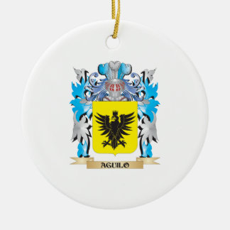 Aguilo Coat Of Arms Christmas Ornament