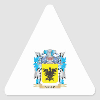 Aguilo Coat Of Arms Sticker