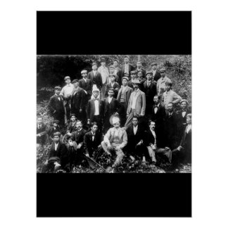 Aguinaldo (seated 3d from right)_War Image Poster