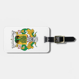 Aguirrezazona Family Crest Tag For Bags