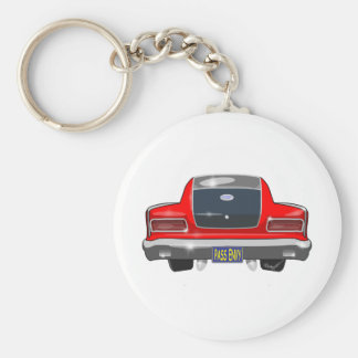 Aguja 1965 del Rambler de AMC Llavero Redondo Tipo Pin
