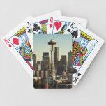 Aguja céntrica del horizonte y del espacio de Seat Baraja Cartas De Poker