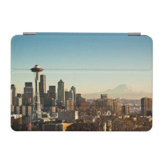 Aguja céntrica del horizonte y del espacio de Seat Cover De iPad Mini