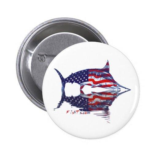Aguja de AmericanFlag por FishTs.com Pins