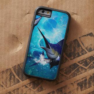 Aguja impresionante con las burbujas funda tough xtreme iPhone 6