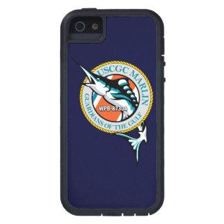 """Aguja WPB-87304 """"azules marinos """" de USCGC iPhone 5 Carcasa"""