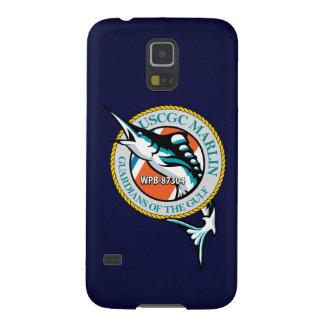 "Aguja WPB-87304 ""azules marinos "" de USCGC Funda Para Galaxy S5"