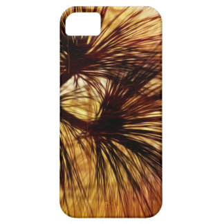 Agujas abstractas del pino iPhone 5 carcasa