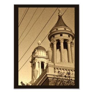 Agujas de la iglesia de Madison Fotografías
