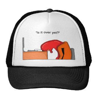 ¿Agujereado en el trabajo? Gorra