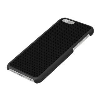 Agujerito micro negro funda billetera para iPhone 6 watson