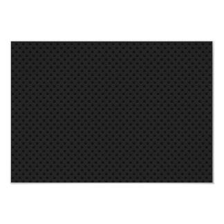 """Agujerito micro negro invitación 3.5"""" x 5"""""""