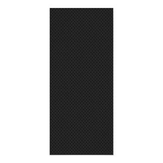 """Agujerito micro negro invitación 4"""" x 9.25"""""""