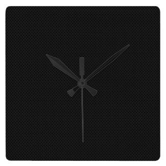 Agujerito micro negro reloj cuadrado