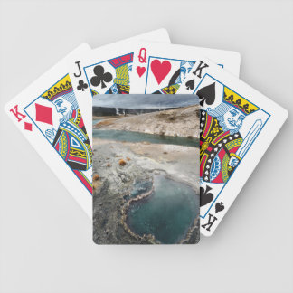 Agujero azul barajas de cartas