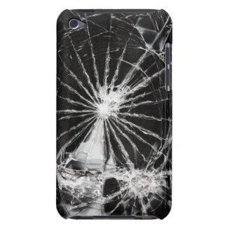 Agujero de bala - vidrio roto iPod touch Case-Mate fundas
