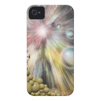 Agujero de gusano iPhone 4 carcasas