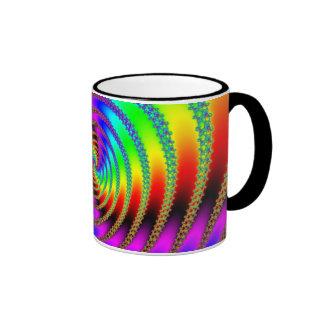 Agujero de gusano taza de dos colores