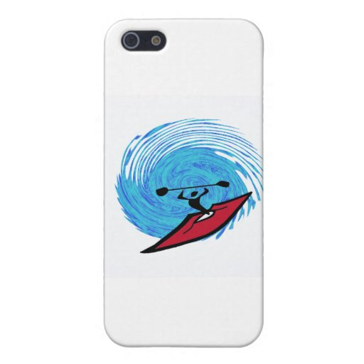 agujero de la eternidad del kajak iPhone 5 carcasas