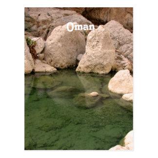 Agujero de riego de Omán Tarjetas Postales