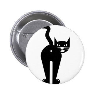Agujero del extremo del gato negro pin redondo de 2 pulgadas