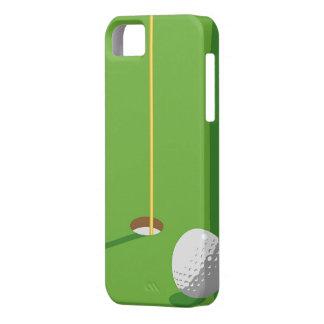 Agujero del golf iPhone 5 carcasa