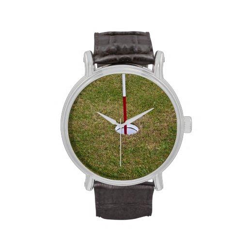 Agujero del golf relojes