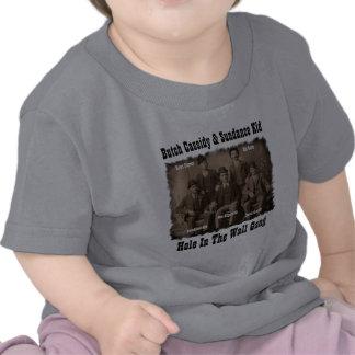 Agujero en la cuadrilla Butch Cassidy de la pared Camiseta