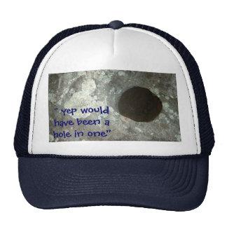 Agujero en un gorra (potencialmente)