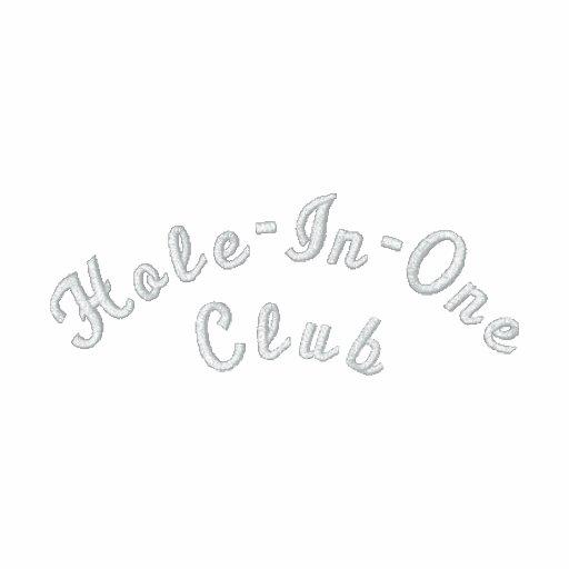 Agujero-En-Uno el club Camiseta Polo
