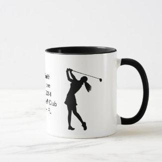 Agujero-en-Uno personalizable de la taza de la