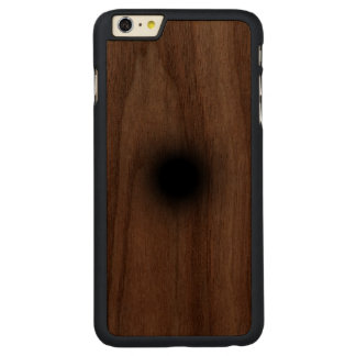 Agujero Funda De Nogal Carved® Para iPhone 6 Plus Slim