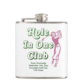 Agujero para mujer personalizado del golf en un