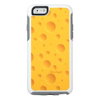 Agujeros amarillos del queso funda otterbox para iPhone 6/6s