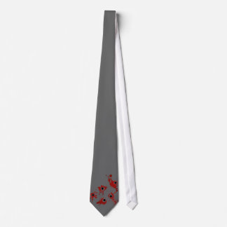 Agujeros de bala corbata personalizada