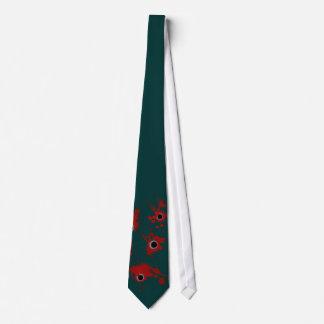 Agujeros de bala divertidos corbata personalizada