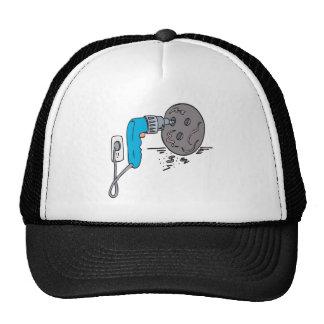 Agujeros de perforación gorra