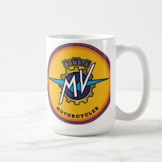 agusta motorcycles sign coffee mug