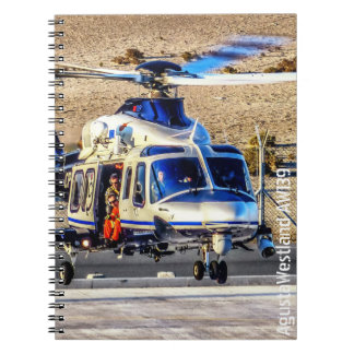 AgustaWestland AW139 Police Helicopter Notebook