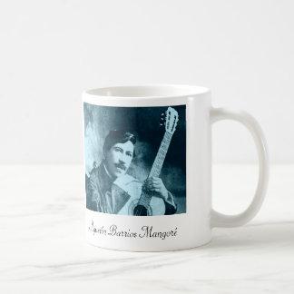 Agustín Barrios Mangoré coffee mug
