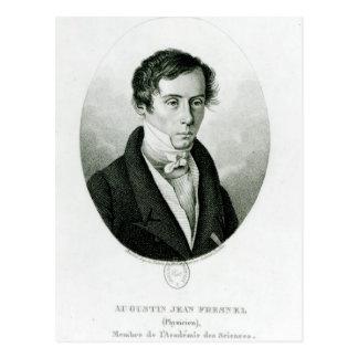 Agustín Jean Fresnel 1825 Tarjeta Postal