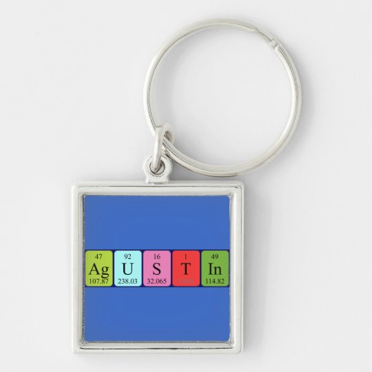 Agustin periodic table name keyring
