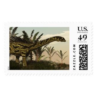 Agustinia dinosaur - 3D render Postage