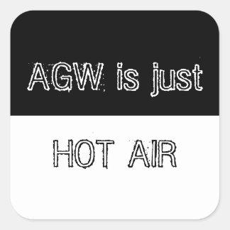 AGW es apenas pegatina del aire caliente