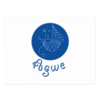 Agwe Veve Postcard